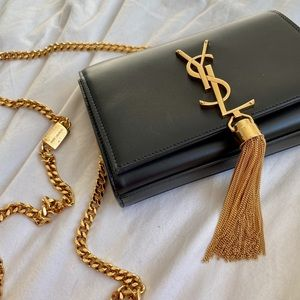 Yves Saint Laurent Small Tassel Crossbody Bag